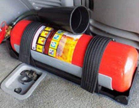 Какой огнетушитель нужен в автомобиль?