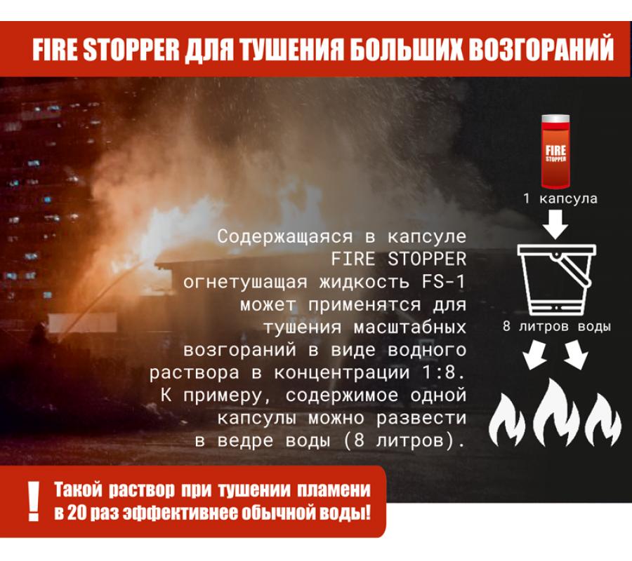 Огнетушитель забрасываемый Fire Stopper фото - купить