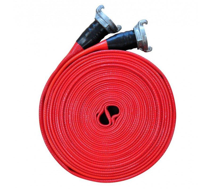 Рукав пожарный d51мм 20м с ГР-50 тип КП (кран-полив) с двухсторонним покрытием фото - купить