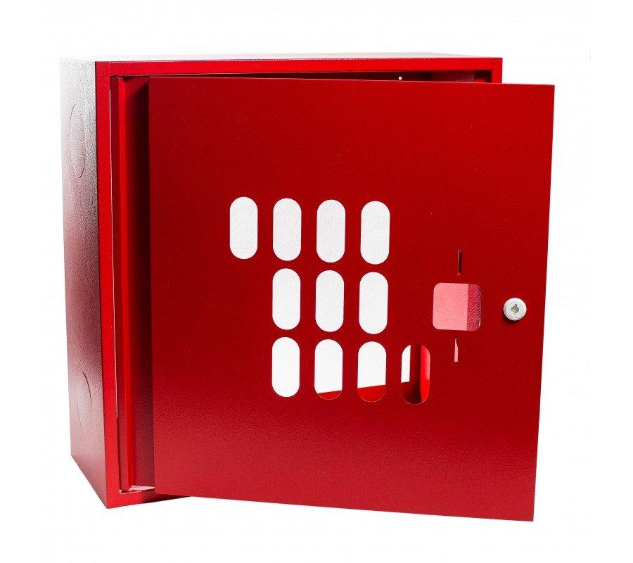Шкаф для пожарного крана 600х600х230 фото - купить