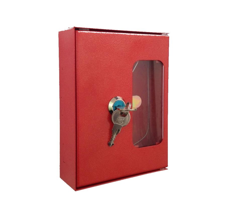 Ключница пожарная для комплекта ключей с молоточком фото - купить